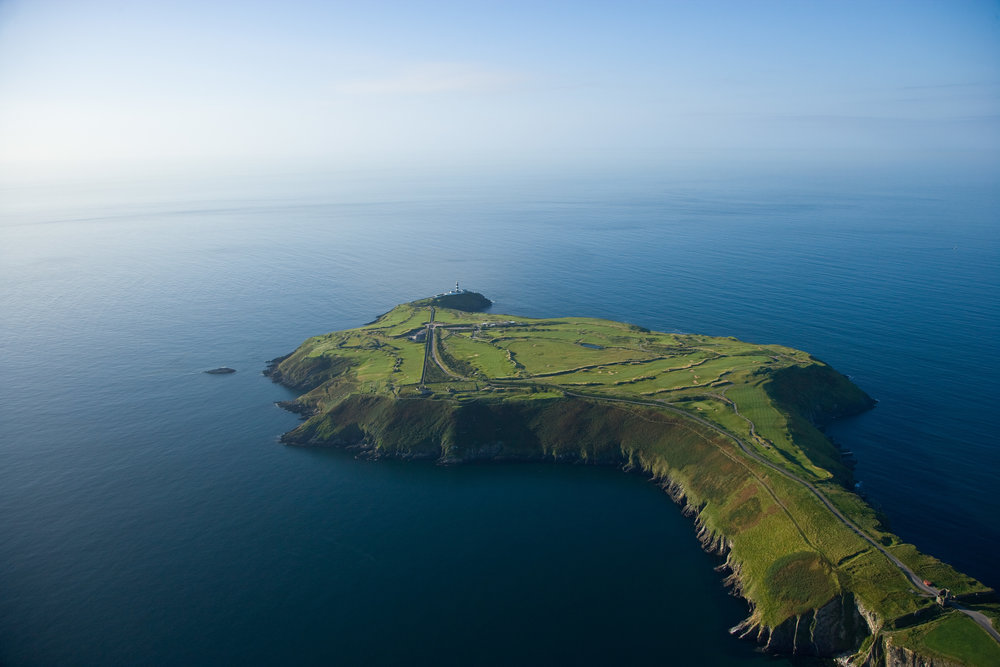 Old Head, situated on it's spectacular peninsula on the South coast of Ireland.