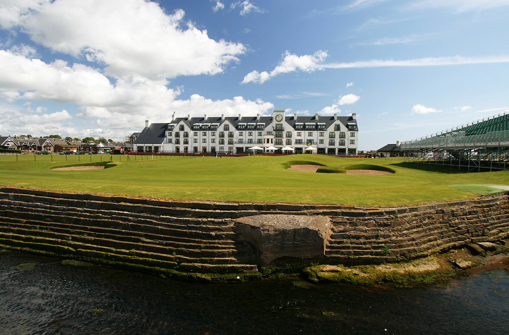 Carnoustie - Host of the 2018 Open Championship.