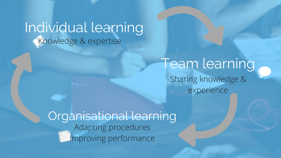 The learning organisation in three levels