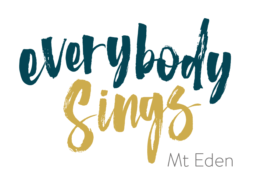 Everybody Sings - Mt Eden is a mixed choir based out of Mt Eden Normal Primary School - Auckland on Thursday evenings (7.15 to 9.15 pm). - Term 2 2019 starts Thursday 2nd May and runs to 4th JulyMay 23rd will be held at Mt Eden Village Centre(Address 449 Mount Eden Rd, Mt Eden).
