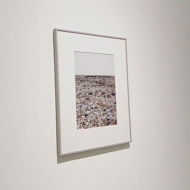 Views from the gallery. No.5 . Hayward Gallery: Gursky @lluukkeecc main page* . . #gallery #london #views #artwork #landscape #vsco #photography #waste #dump #pollution #streetphotography #photooftheday #exhibition #southbank #minimalist #light