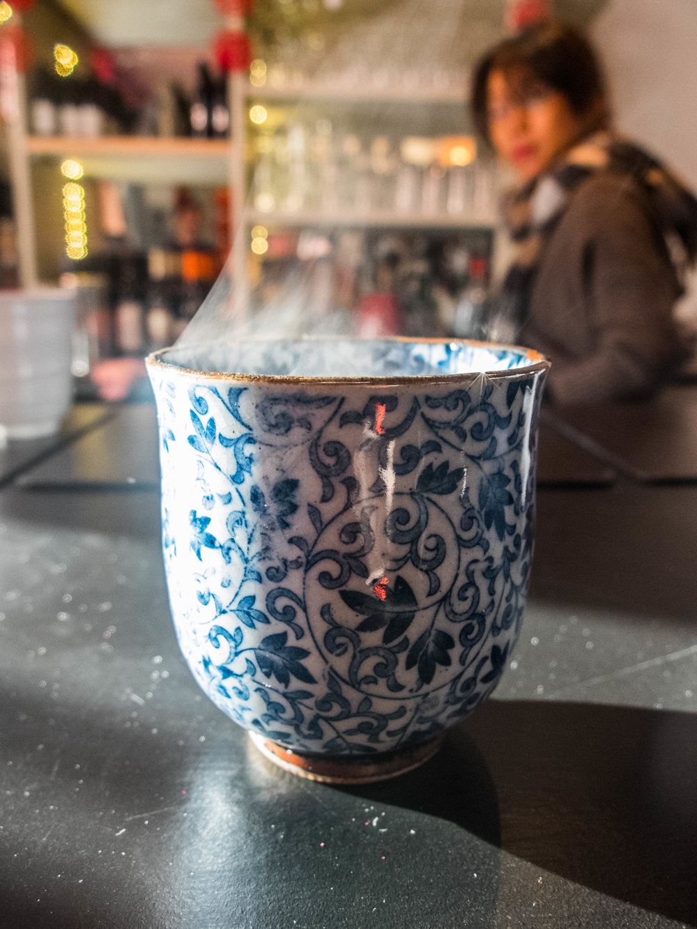 A cup of tea at Mei's