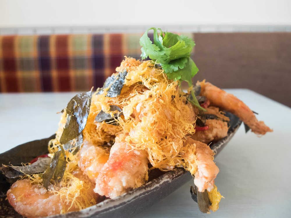 Buttered Fried King Prawn