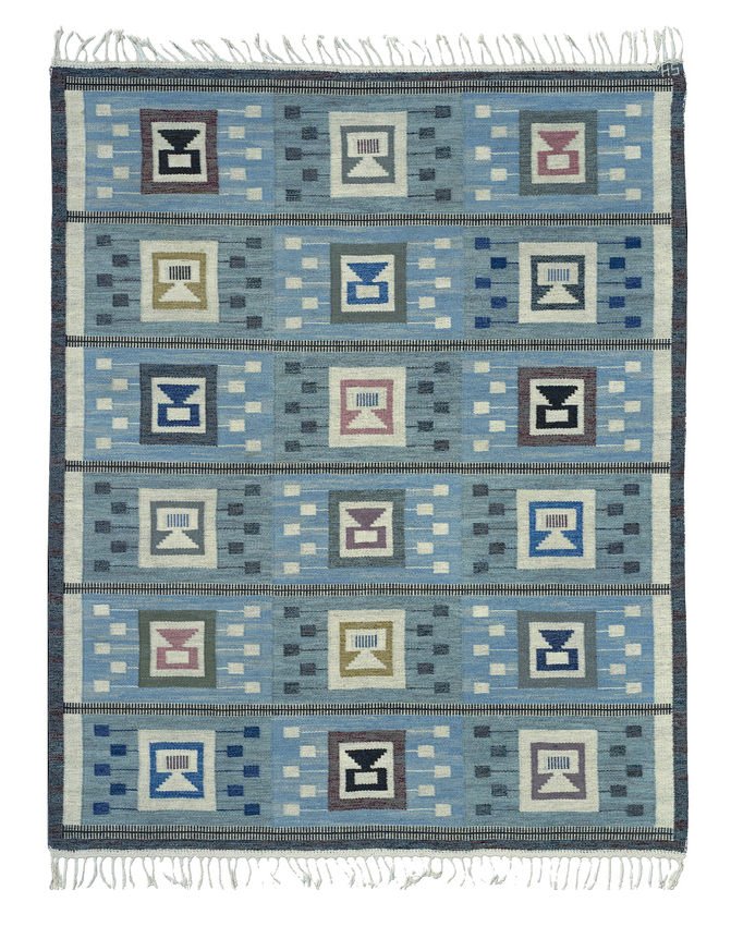 1956 Rug by Edna Martin approximately $20,000