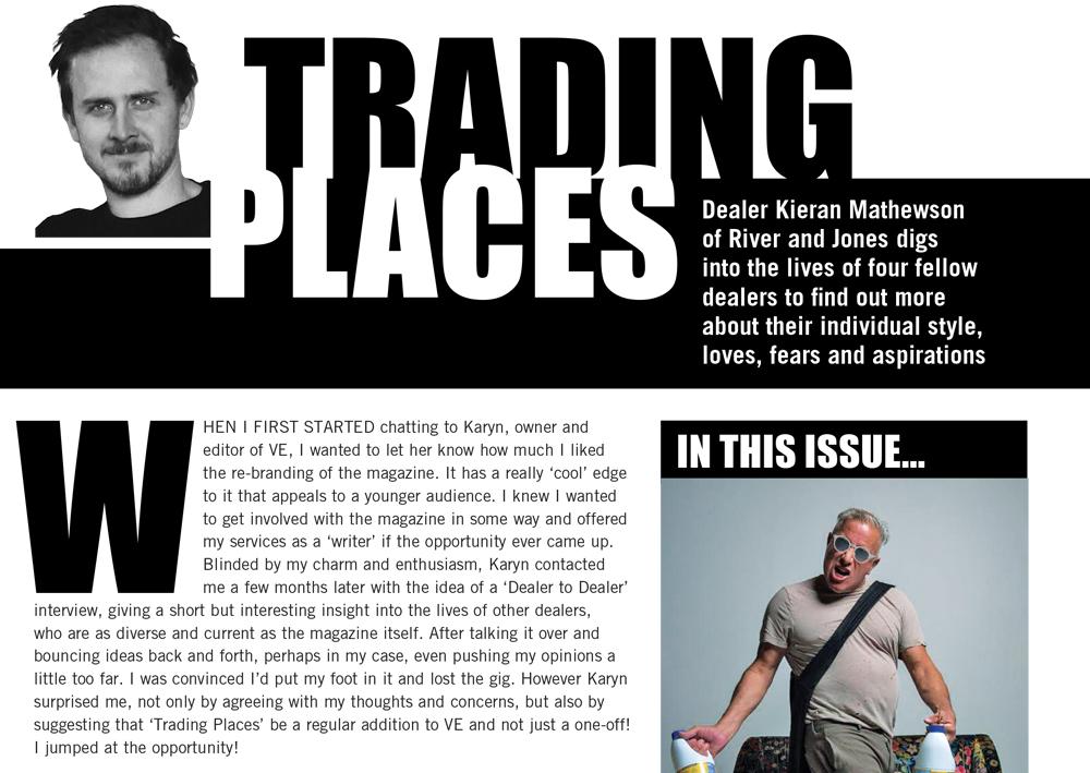 Trading Places  - VE Magazine