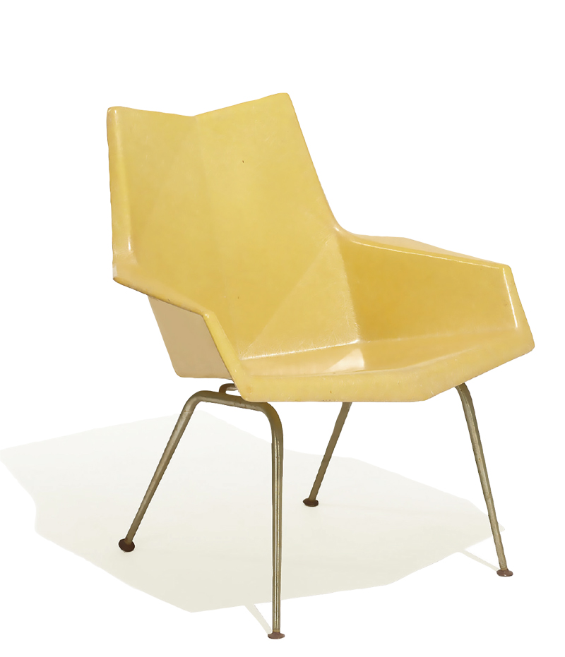 Faceted Form lounge chair from 1959.