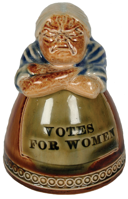 This Doulton Lambeth inkwell sold at Bonhams for £540 in 2010