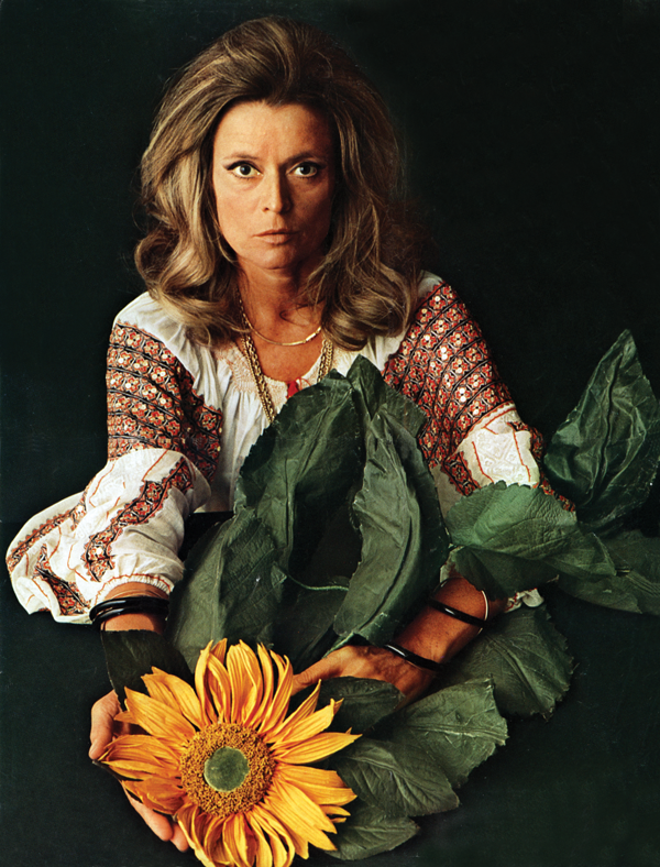 Gabriella photographed by Oliviero Toscani in 1970