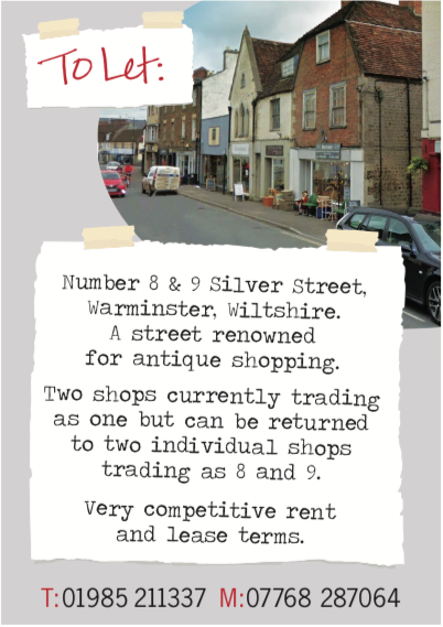 Premises to let in Silver Street, Warminister