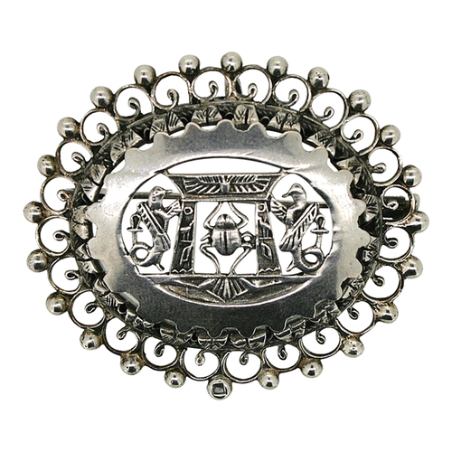 Silver-Scarab-Detailed-Brooch,-1920s.png