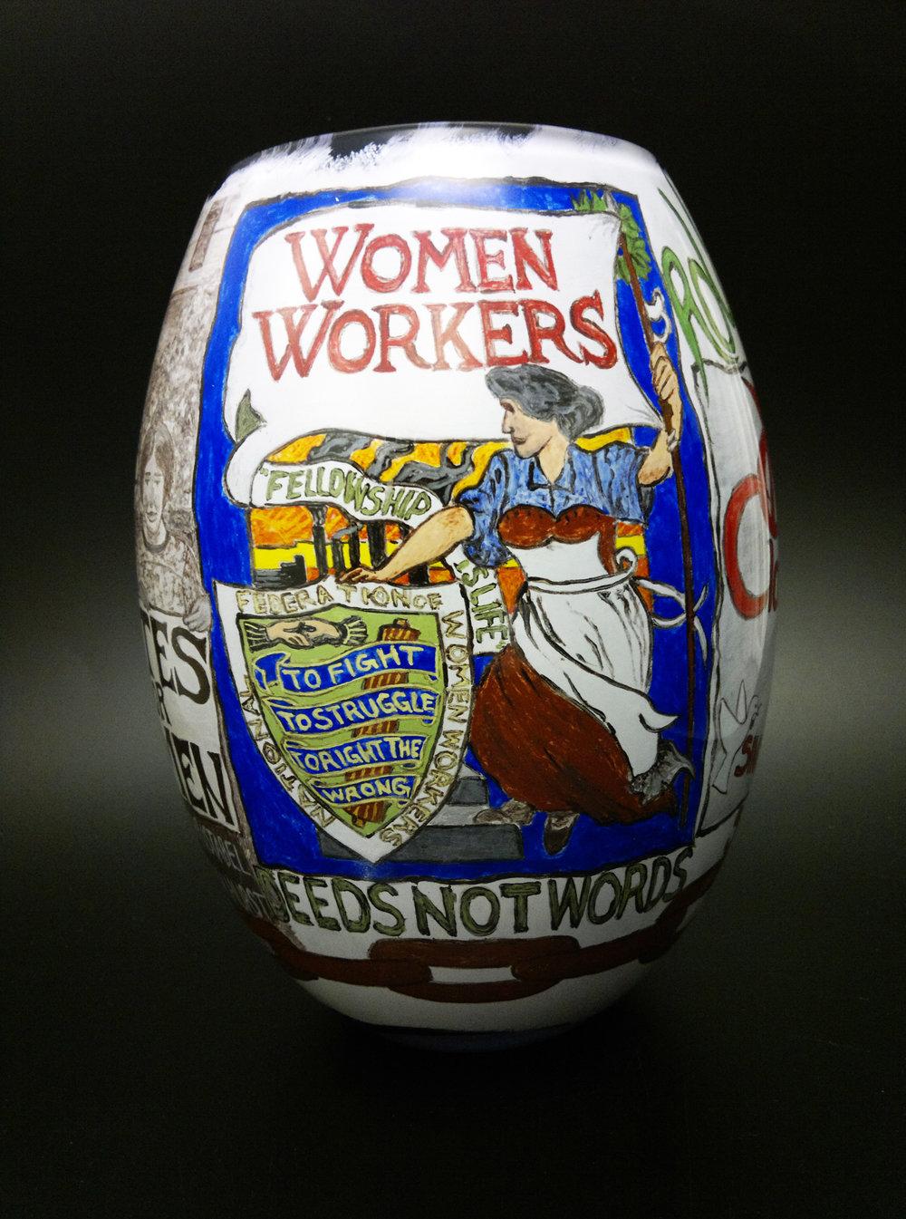 Womens Struggle by Vic Bamforth (image credit Vic Bamforth)