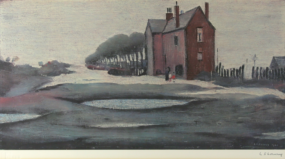 'The Lonely House' by Laurence Stephen Lowry RA has an estimate of £600 to £800