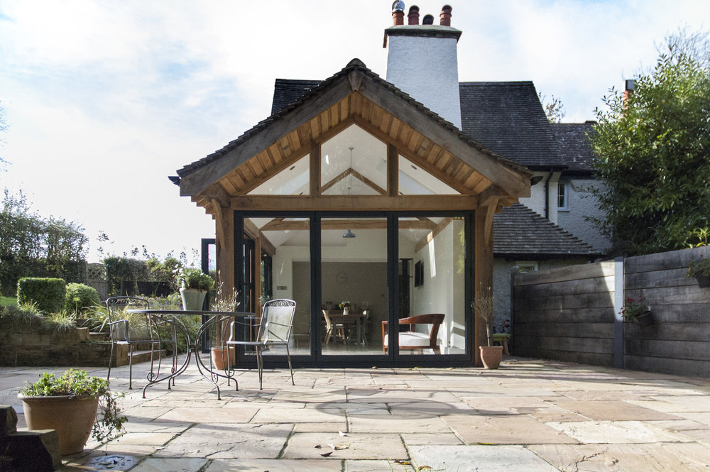 THE COTTAGE - garden room extension
