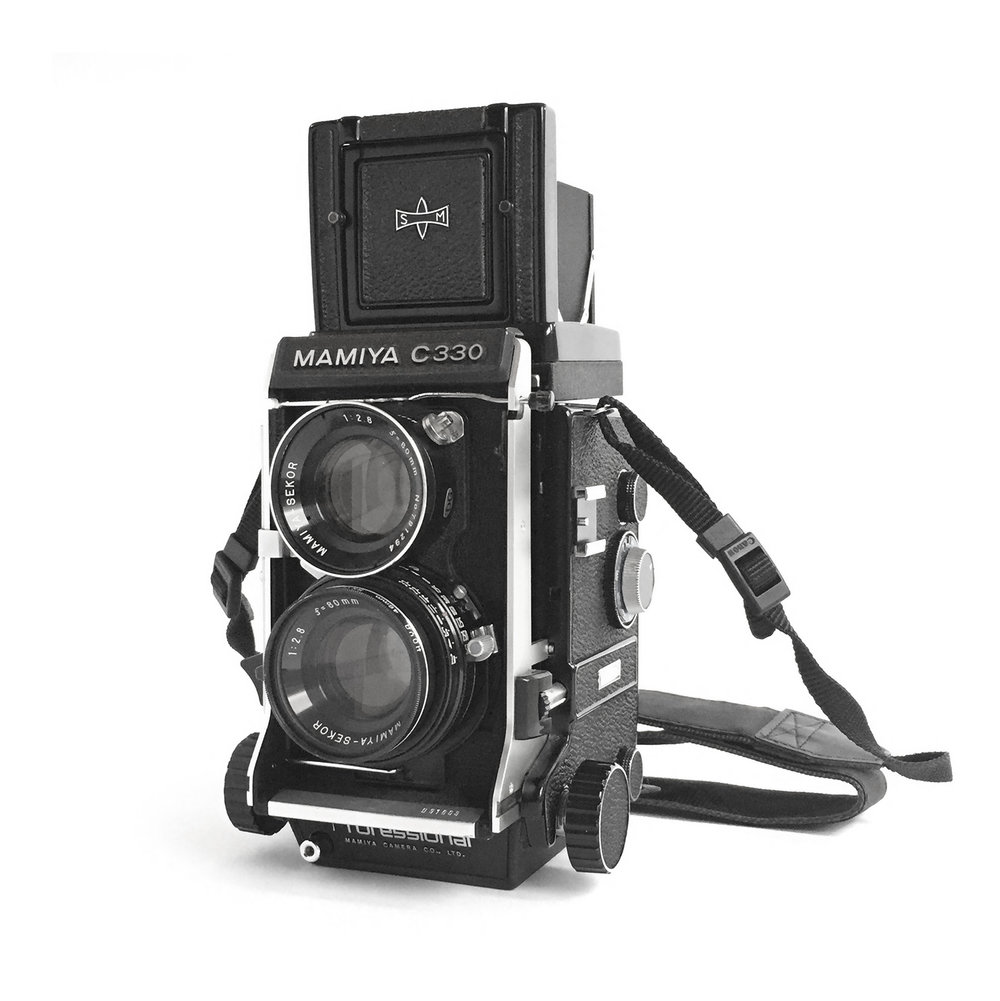 Figure 1: Mamiya C330 (Source: Machinski, 2018).
