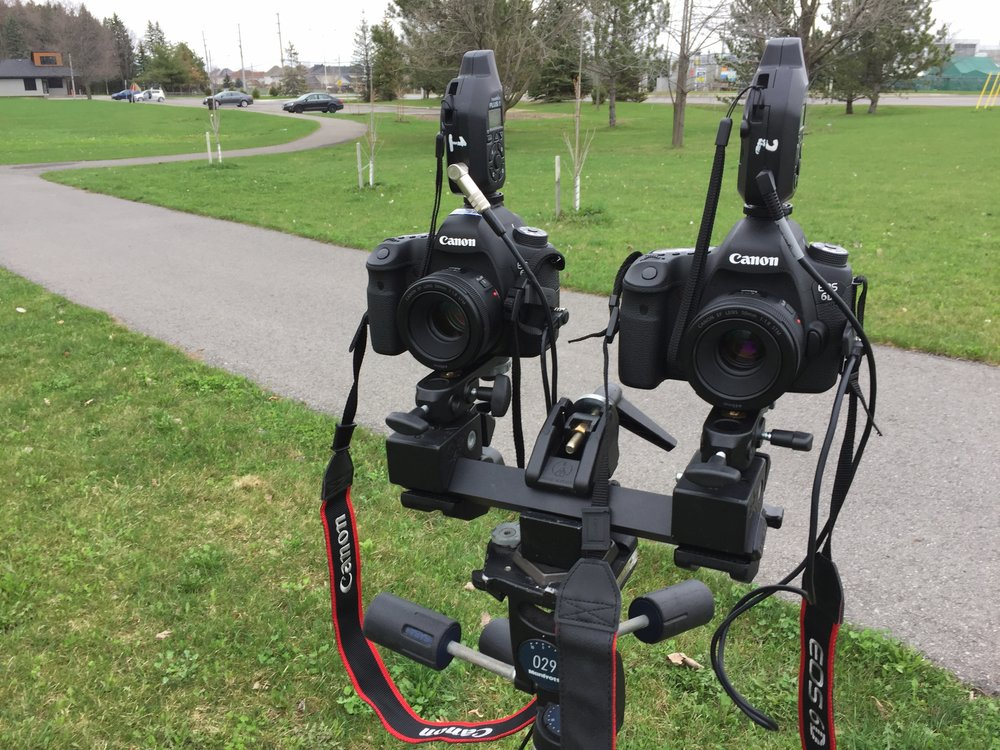 Fig 2. Stereoscopic Rig #02 (Source:Machinski, 2018)