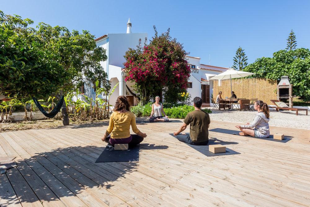 yoga villa algarve