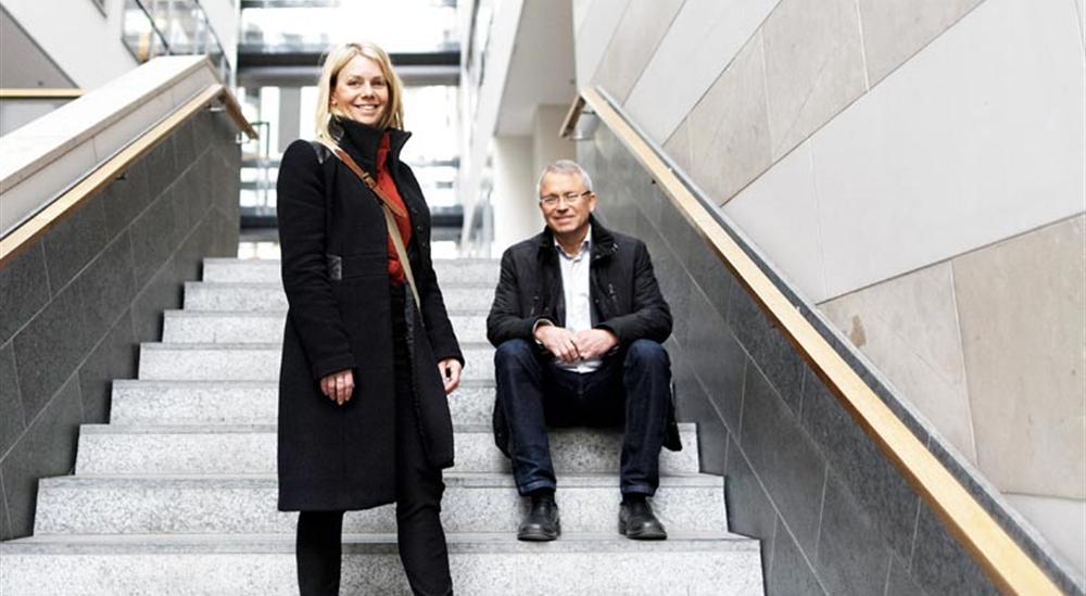 Pernilla Ramslöv och Mats Norman