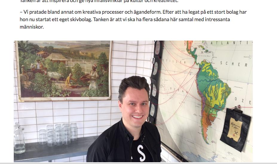 Sydsvenskan feature