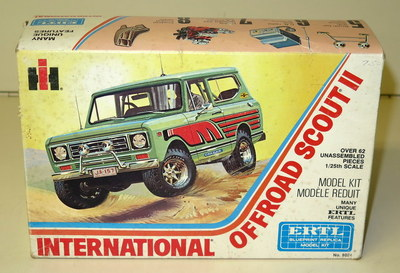 This new-in-box Scout is a great example of a few of the toys available at this summer auction that takes place right before the Red Power Round-up.