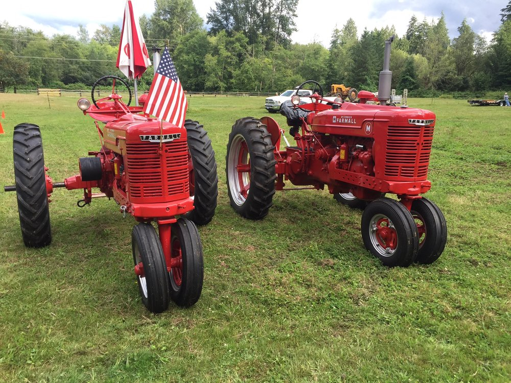 Photo courtesy of Northwest Vintage Iron and the Snoqualmie Valley Tractor Drive
