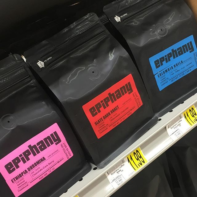 Fresh beans on the shelves at Butler & Bailey Market! #knoxcoffee #locallyroasted