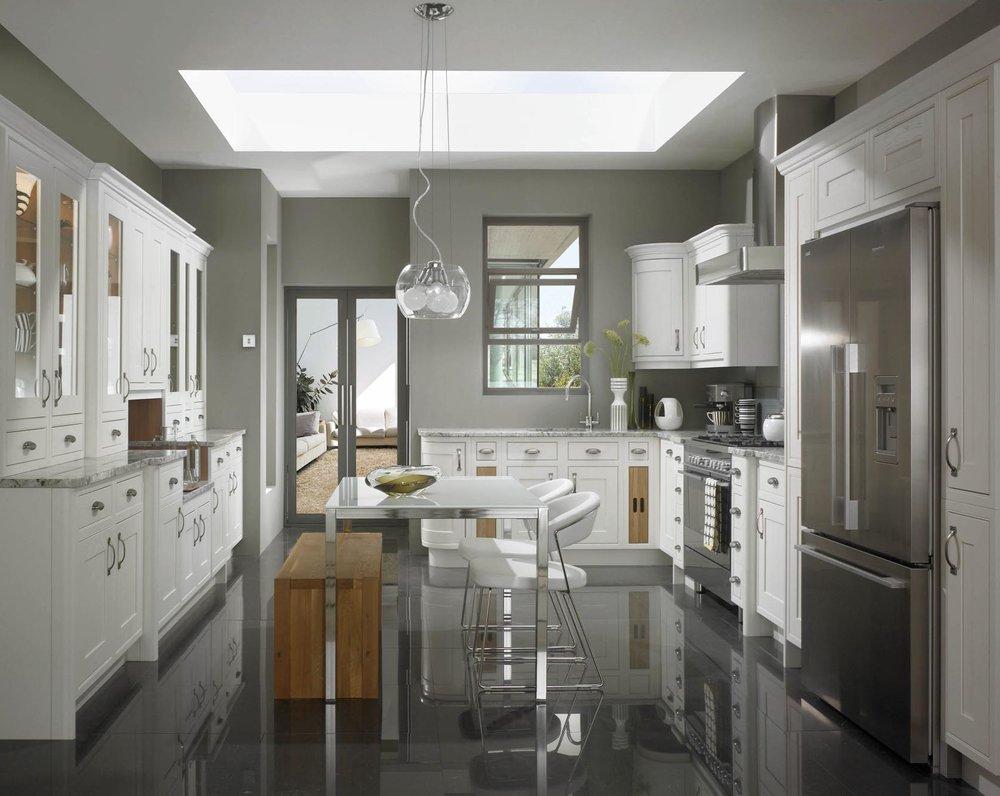 Mereway Kitchens English Revival Chalk White Shaker