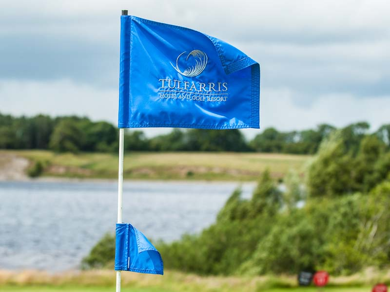 Tulfarris Hotel and Golf Resort Flag on golf course.jpg