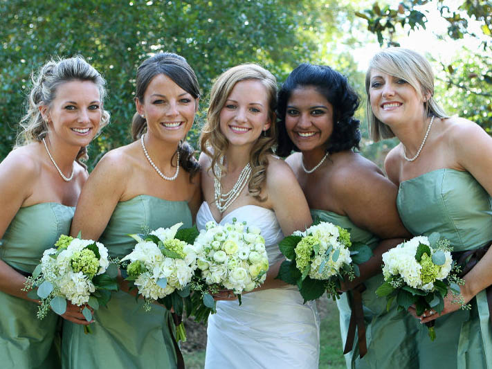 Bridesmaids and Bride at Tulfarris Hotel and Golf Resort (2).jpg