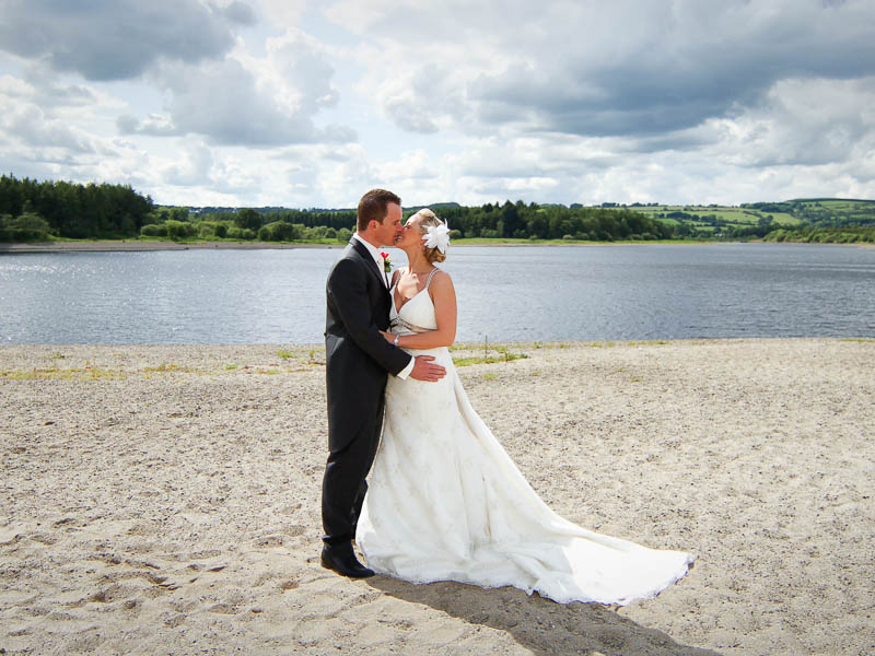 Tulfarris Hotel wedding couple by Blessington Lakes.jpg