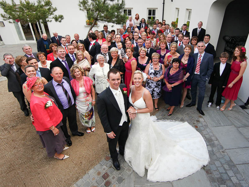 Wedding Party in Tulfarris Courtyard.jpg