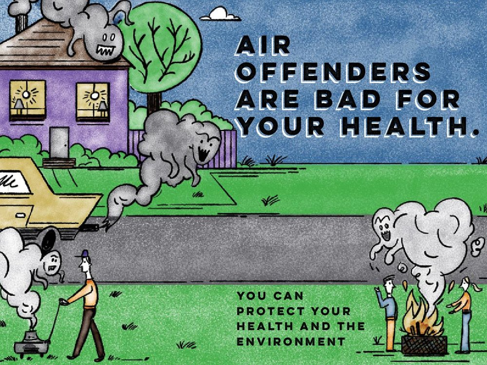 Clean Air Champion Activity Card - See also Everyday Air Hero Video