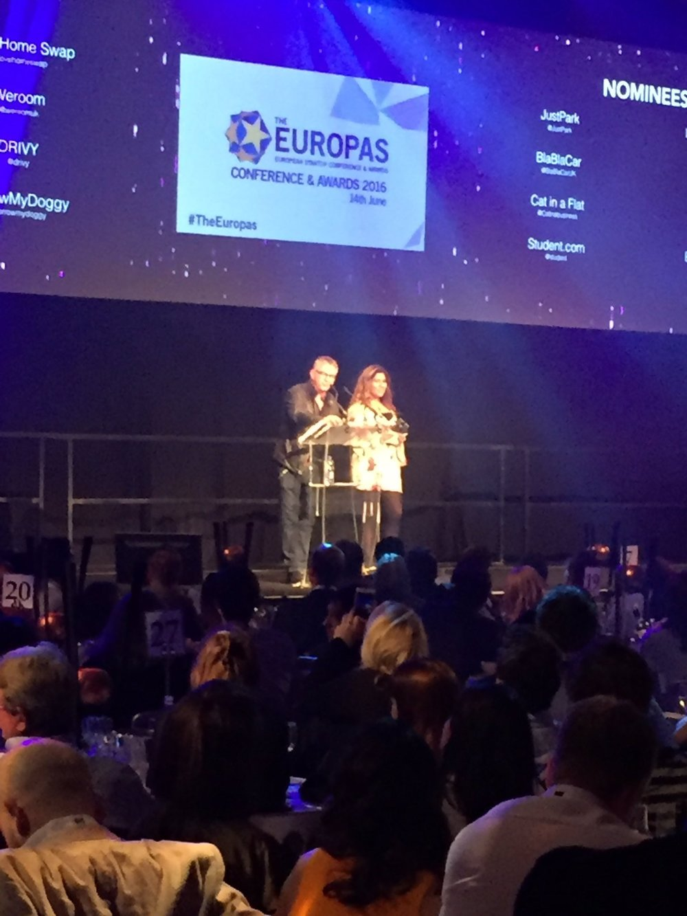 Europas 2016, London