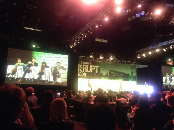 TechCrunch Disrupt 2015, London