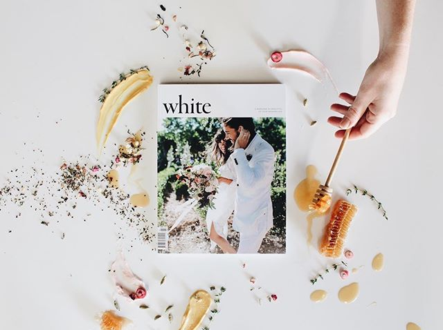 Super stoked to be in the latest issue of @whitemagazine that just came out today! Go grab a copy and find me in the marketplace feature, along with other gorgeous work from other vendors around Australia! Cover image by @larahotzphotography