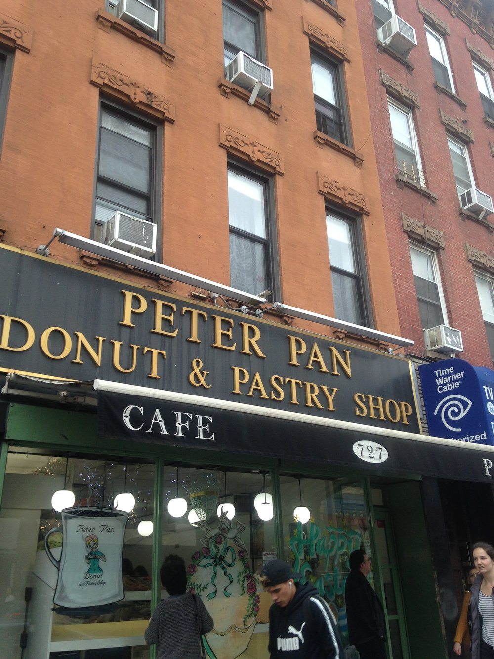 Greenpoint donut shop