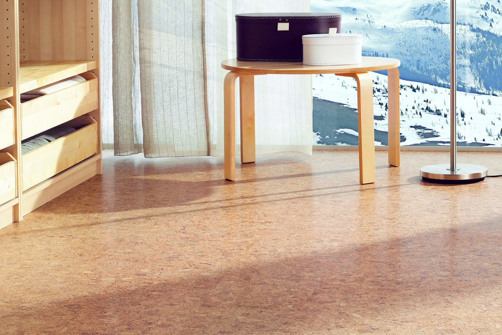 tilo SENSO engineered cork flooring