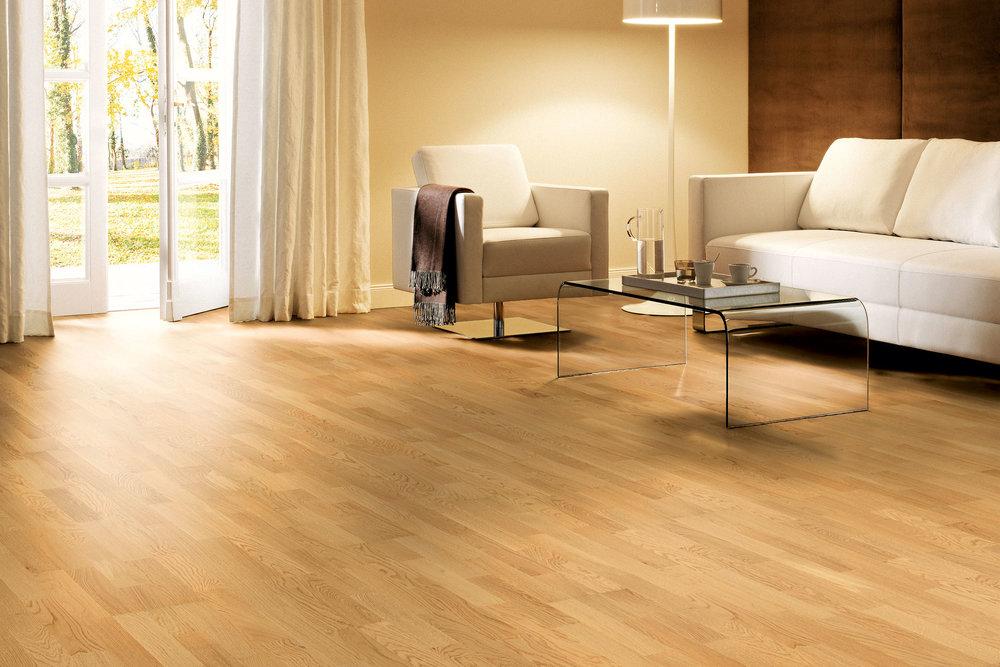 OCEANO 3-strip: oak - sanded and Natur oil - Classic grade