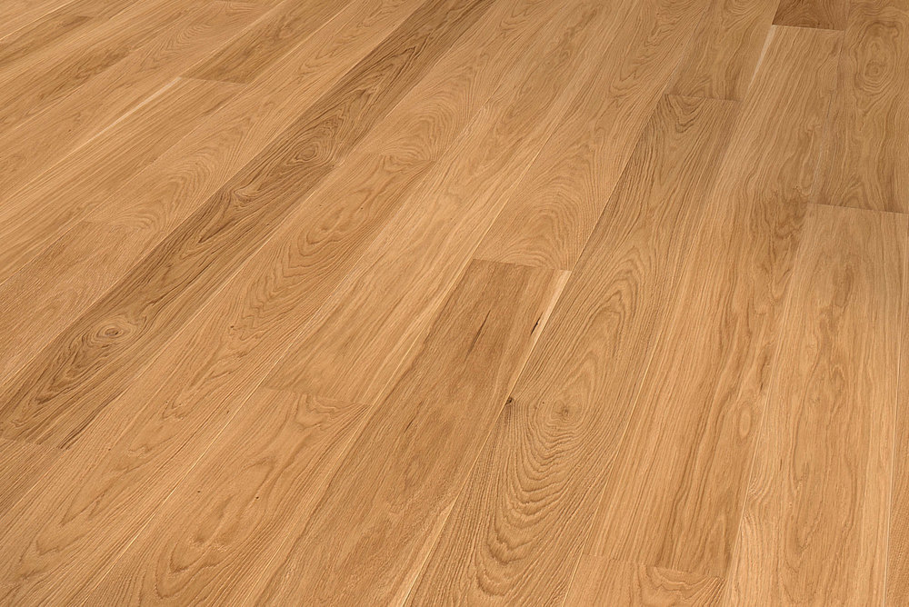 PURISTICO: oak, Harmony grade, natural oil finish