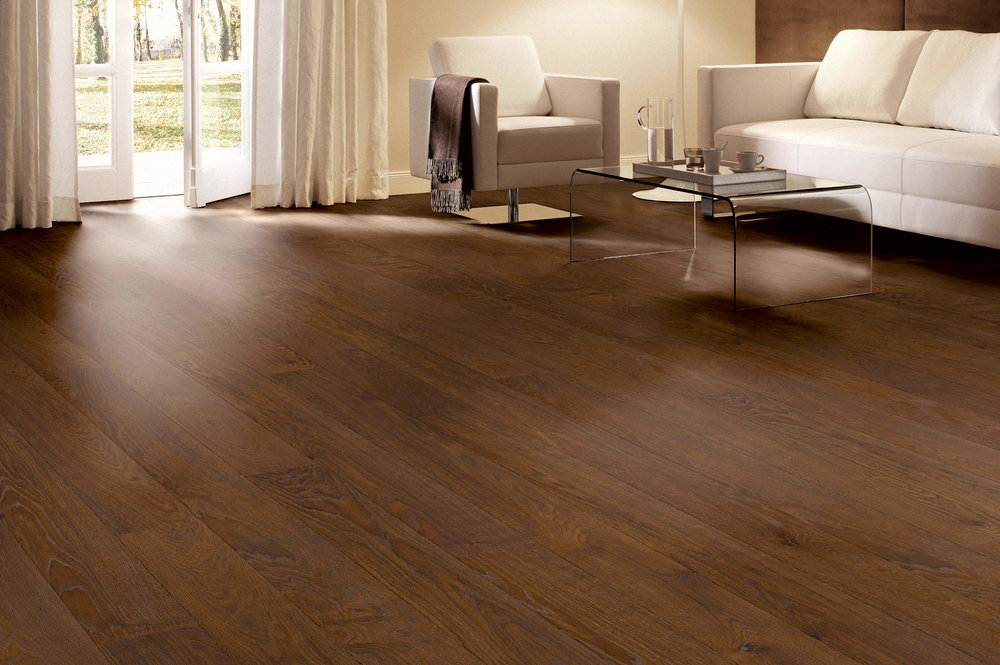 PURISTICO: oak Mocca, harmony grade, natural oil finish
