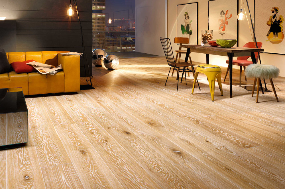 MARCANTO: oak Highland, Alpin grade, natural oil finish