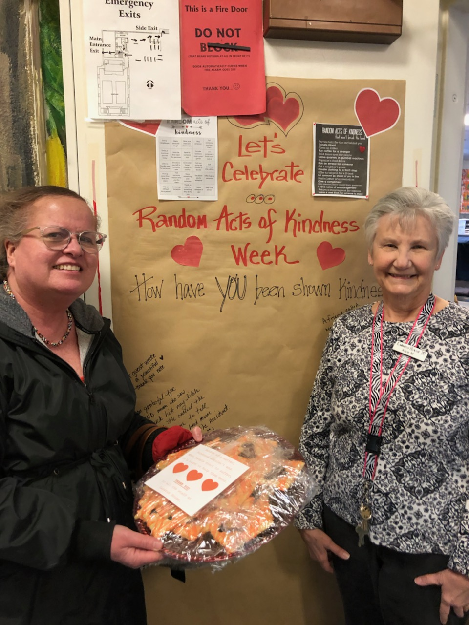 """It's been an incredible day of RAM sharing home baked goodies for """"people who serve"""" our community! Thanks to all the RAMBakers!!"""