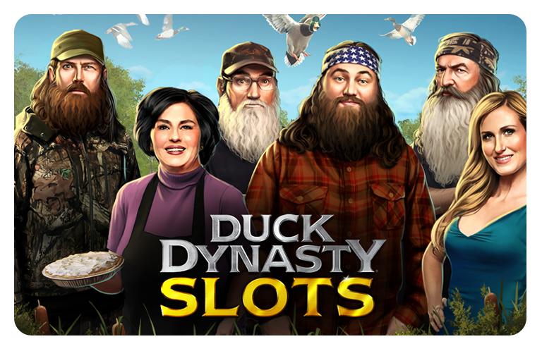 Duck Dynasty Slots | Zynga
