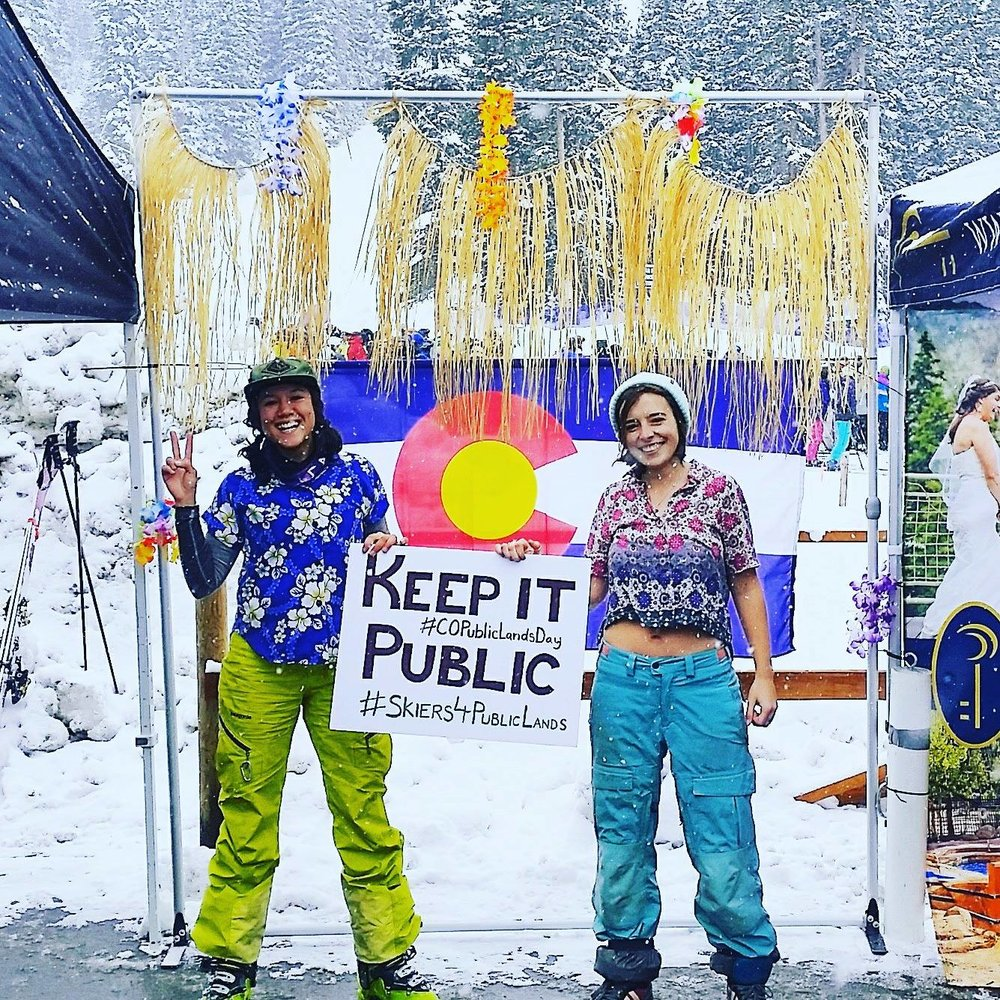 Snowriders for Public Land - Snowriders' campaign to Keep our Public lLand Public