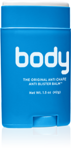 Body Glide available at PR