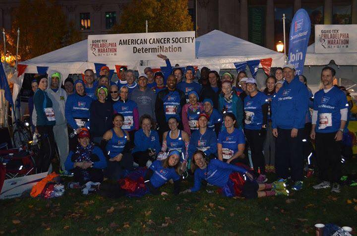 Photo via Team DetermiNation - at the 2015 Philadelphia Marathon & Half Marathon