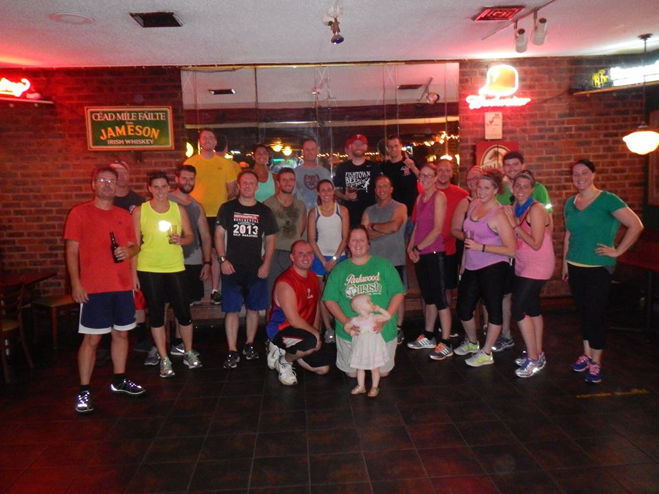 Photo from the inaugural TBR Philly run on July 9th, 2014
