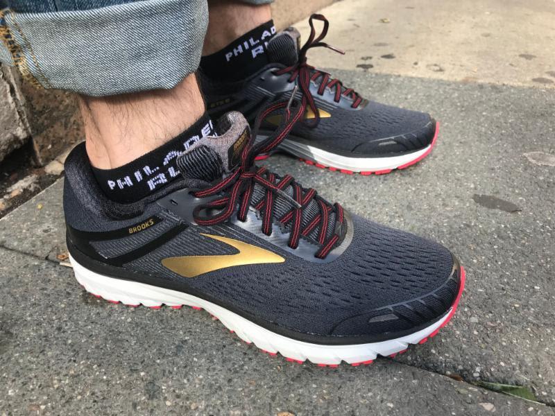 reputable site a8988 d8a0c Shoe Review: Brooks Adrenaline GTS 18 — Philadelphia Runner