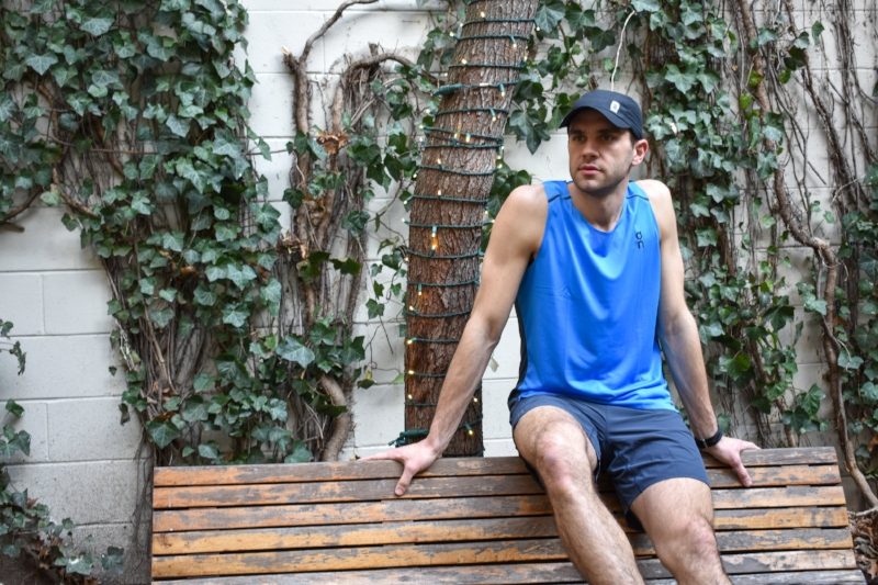 Men's Performance Tank T: This seamless performance tank is made with a moisture wicking knit that keeps you dry throughout your run or workout. It's a great alternative for someone looking for something more technical than the Comfort-T.