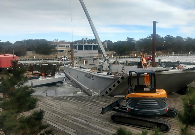 The Harbor Reconstruction Project has started, and should be competed in April.