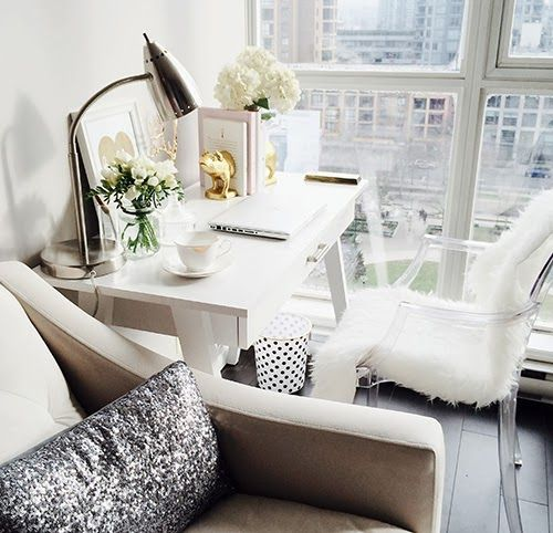 Glam Office Space